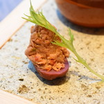 ROASTER - 戻り鰹のリエット~あいち季節野菜と炭火焼のオードブルバリエ(ROASTER LUNCH SET)