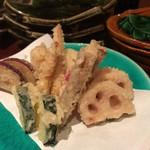 栄喜知 - 野菜の天ぷら