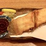 番長 - 料理写真:この「カレイの唐揚げ」がな、なんとお通しです!