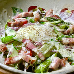 和宴処 みやま - 城川ベーコンのシザーサラダ