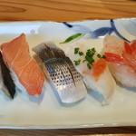 あかめ寿司 - 鰆、カジキ、コハダ、河豚、甘海老
