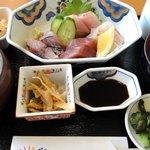 道の駅 宍喰温泉 レストラン アリタリア - 漁場定食 ¥1500