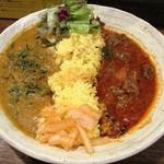 Supaishikareroka - 選べる2種カレー(牛すねの薬膳&クリーミィ野菜コルマver)