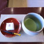 懐華樓 - お抹茶と和菓子