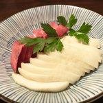 夕日ヶ丘レストラン善生 - 善生農園のおかあさん手作り漬物  200円