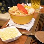 円頓寺もんじゃ関山 - 明太チーズもんじゃ