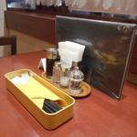 Kitchen KAMEYA 洋食館 - 卓上