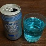 ブルーマンタ - ちゅらうみしおソーダ