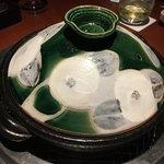 蕃 YORONIKU - 土鍋の蓋を開けると