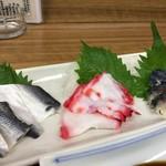 大衆酒場 富士川 - 酢盛三点