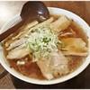 あべ食堂 - 料理写真:中華そば 650円 すごく醤油感の強い一杯です。