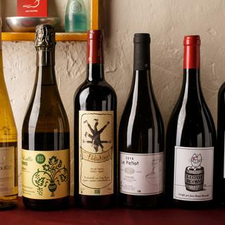 【自然派ワイン】に力を入れています!