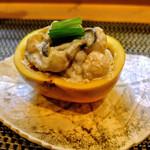 割烹 船生 - 料理写真:柿ときのこの白和え