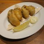 ドノスティア - 牡蠣のベニエ アイオリソースで1