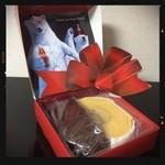 アヤベ洋菓子 - ハーフ&ハーフケーキ