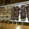 焼鳥乃千古 - 料理写真:豚精110円、砂肝、レバーは90円です(驚)