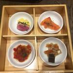 BANNZAI VINO - 前菜4種