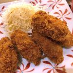77613448 - 牡蠣フライ定食