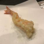 天ぷら わかやま - 天ぷらわかやま本店(才巻き海老2本目)