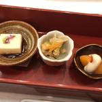 天ぷら わかやま - 天ぷらわかやま本店(前菜)