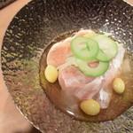料理 吉祥寺 わるつ - 寒鯛の鮟肝煮