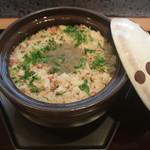 料理 吉祥寺 わるつ - 紅ずわいかに土鍋炊きごはん