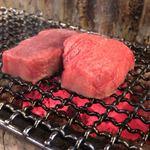 日本焼肉党 - 厚切りタン 焼き始め