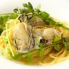 森の中のレストラン こどう - 料理写真:牡蠣と下仁田ネギのパスタ ゆずの香り