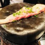和の食 いがらし - チョウザメを焼き台で!