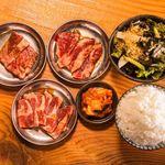 七輪焼肉SASAYA - カルビ定食