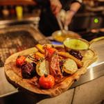 炉端焼き野菜のバーニャカウダ