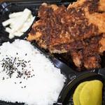 けんちゃん食堂 - 料理写真:とんかつ弁当680円