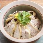 サイアム セラドン - 「選べるディナーセット」総州古白鶏のカオマンガイ