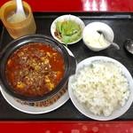 福泰楼 - 料理写真:激辛プラス100円です。
