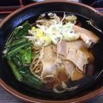 助六そば - 料理写真: