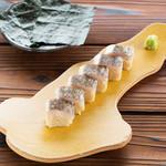 炙りとろサワラの棒寿司(1日限定5食)