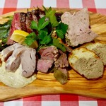 カリオカ - お肉の前菜5種盛り