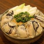 鶏ジロー - 牡蠣鍋