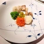 レストラン 代官山小川軒 - 野菜茸前菜