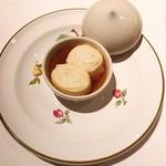 レストラン 代官山小川軒 - 湯葉白身蒸し物