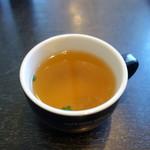 77628817 - スープ、サラダ付き