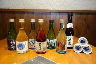 和楽 - 海の京都7市町の日本酒をご用意しました!