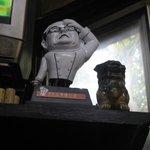 紅葉家 - きたなシュランで贈られた記念のトロフィー