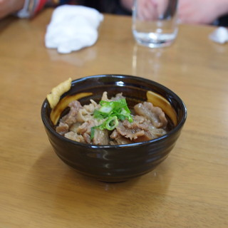 いのよし - 料理写真:牛スジ 単品