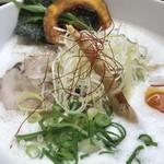 77630091 - 暁製麺 鶏豚らぁ麺 アップ