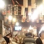 魚河岸 魚◯本店 - 昼間から~♪