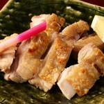 地鶏(塩焼き)