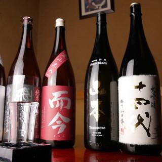 【日本酒】お料理の味を最大限に引き出す珠玉の銘酒がずらり