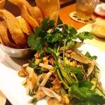 kitchen - 蓮の茎のサラダ
