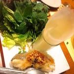 kitchen - 蒸し魚のベトナム風